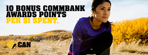 Commbank Award Points Homepage Logo