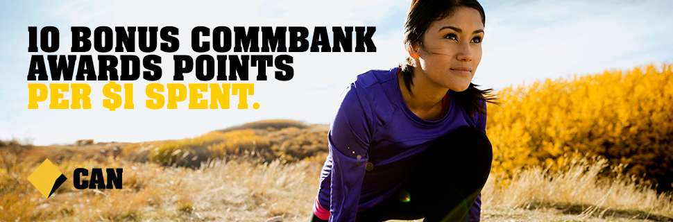 Sports Store Earn Commbank Awards Points