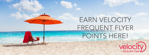 Sports Store Velocity Frequent Flyer Points Earn