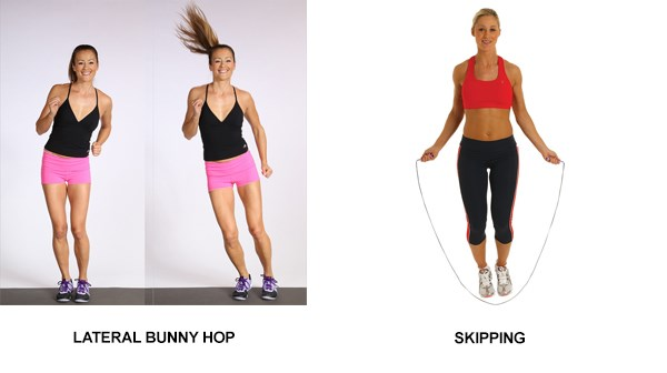 Lateral Bunny Hop and Skipping