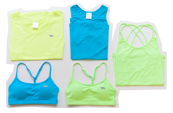 Running Bare Tanks Singlets Crop Tops