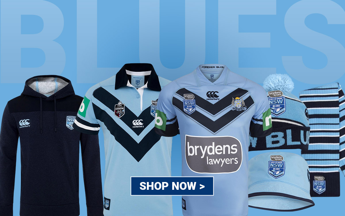 Shop NSW Blues Merchandise