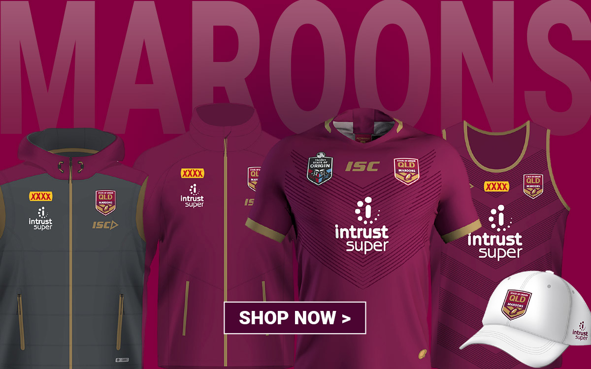 Shop QLD Maroons Merchandise