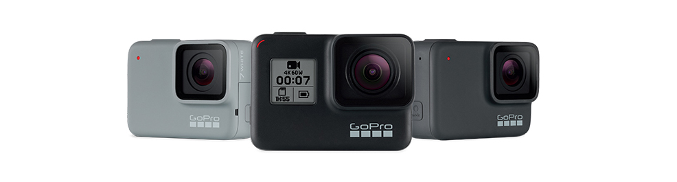 GoPro HERO7 Black Silver White