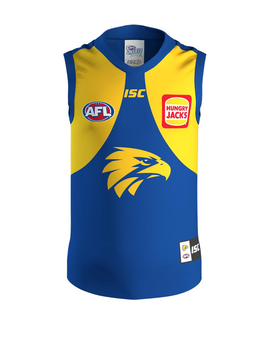 West Coast Eagles Kids Home Guernsey 2020