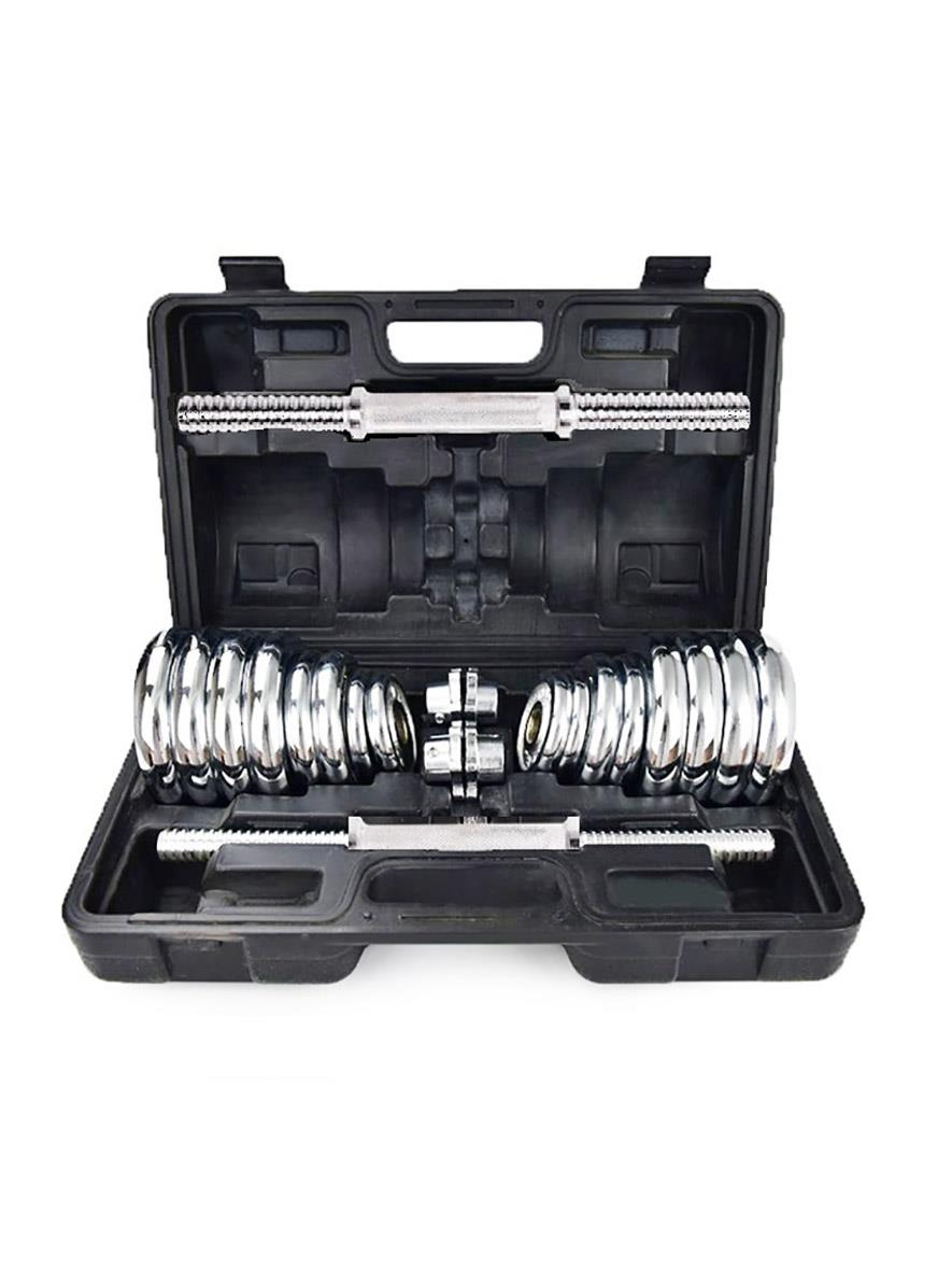 Onsport 30kg Chrome Dumbbell Set - FREE SHIPPING