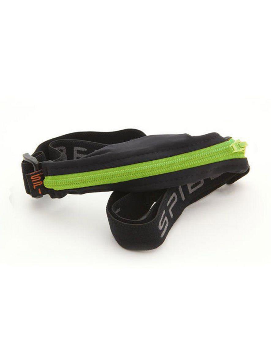 SPIbelt Original Belt Black with Lime Zip