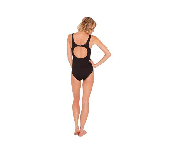 Speedo Endurance Contour Clip Back Black Womens