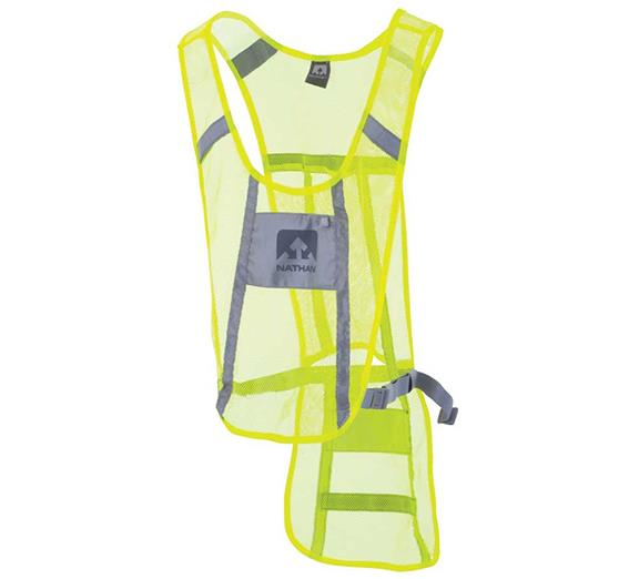 Nathan Cycling Vest Hi Vis Yellow