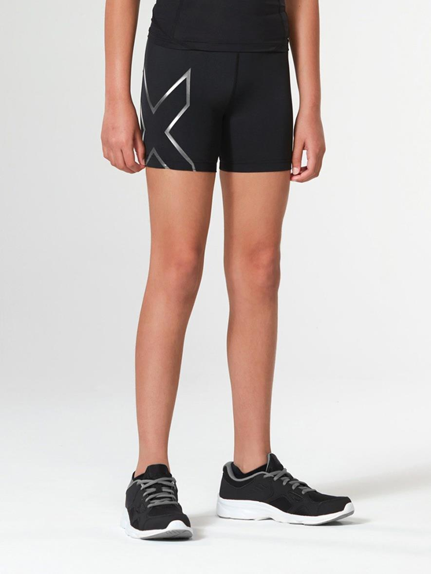 2XU Girls Compression Half Shorts