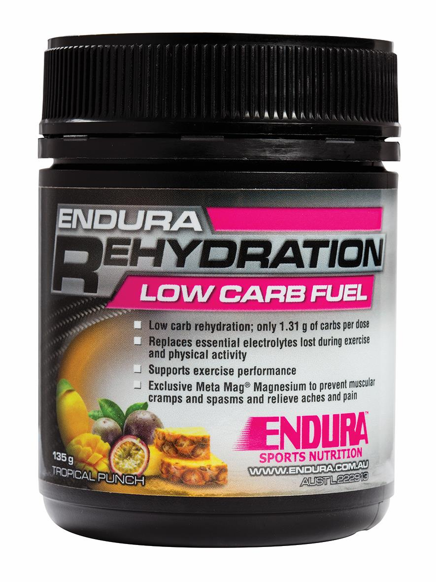 Endura Rehydration Low Carb Fuel Tropical 135g