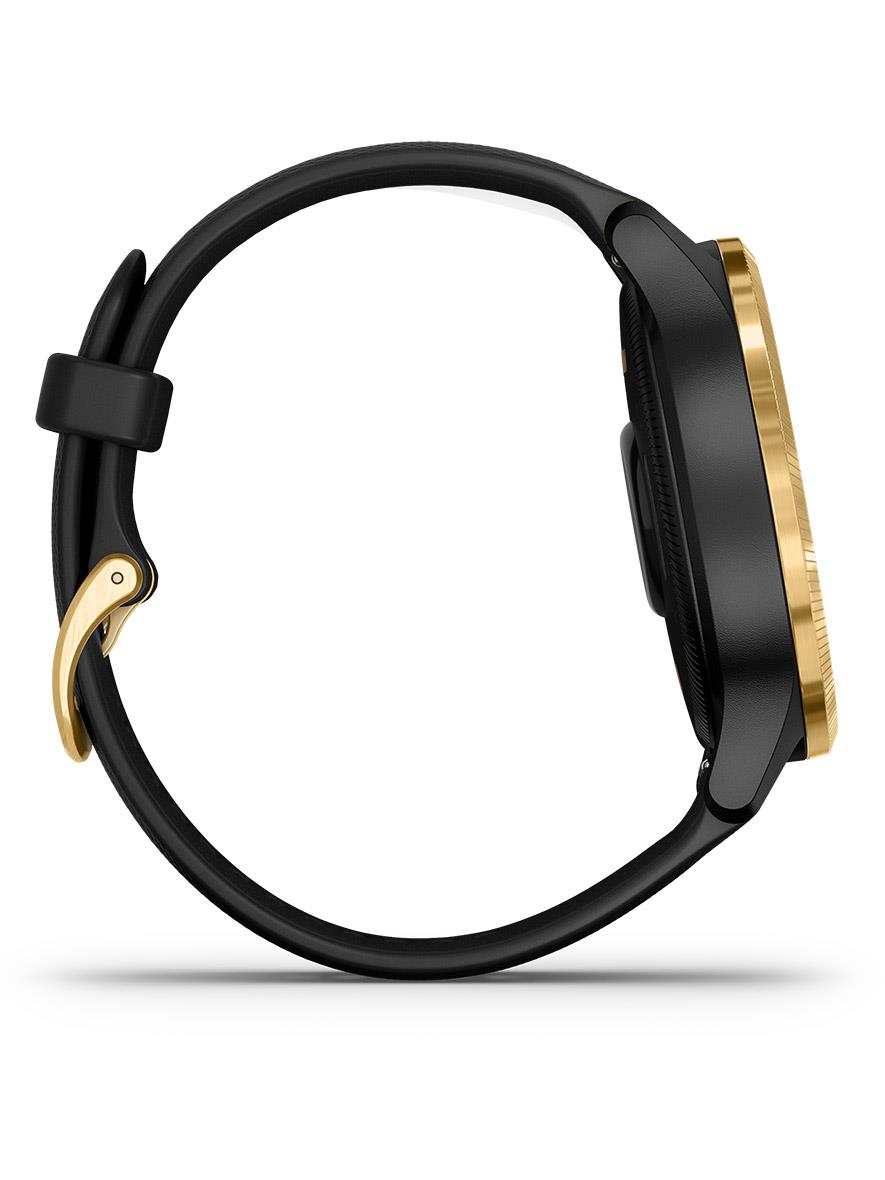 Garmin Venu Black Gold Hardware