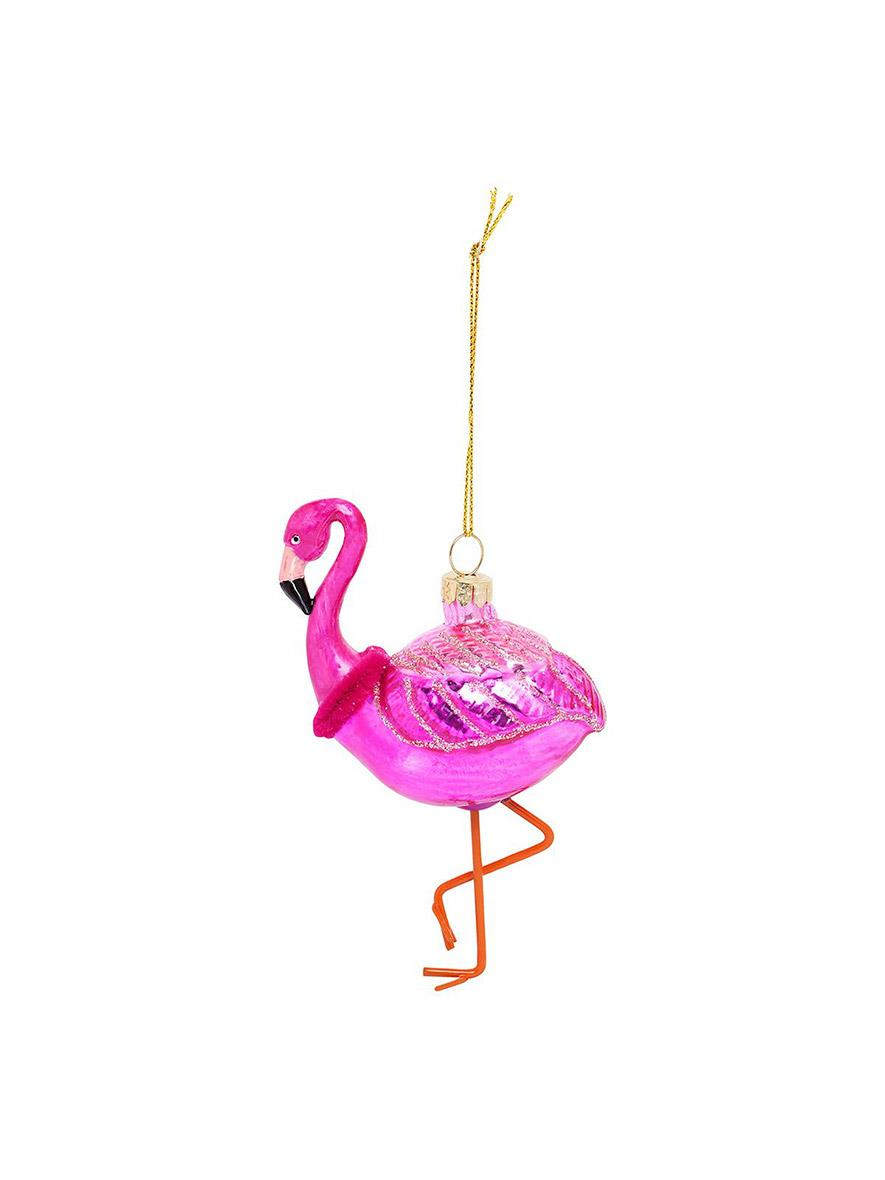 Sunnylife Flamingo Festive Ornament