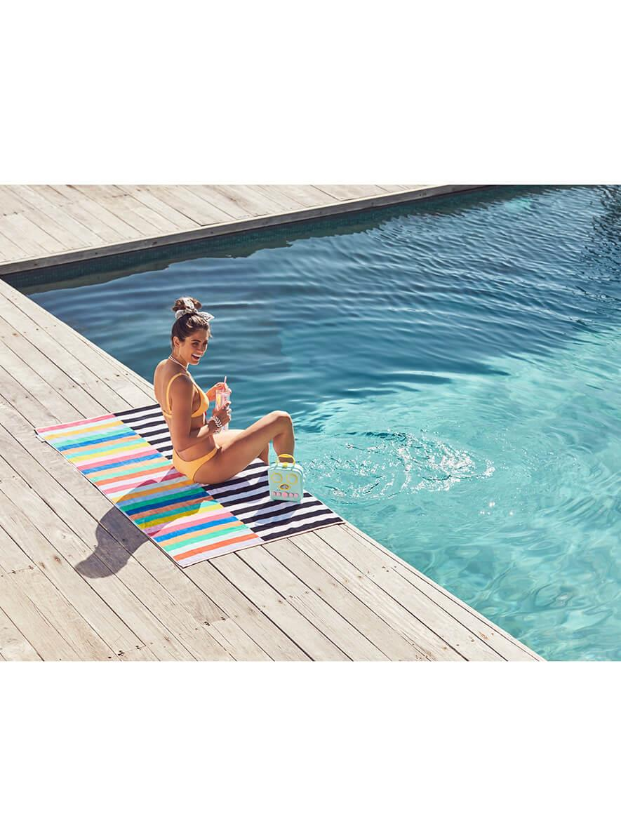 Sunnylife Luxe Towel Crocodile Rock