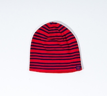 Adidas Blue Red Striped Beanie