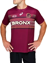 Brisbane Broncos Replica Run Out Tee Mens 2021