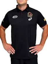 Brisbane Broncos Team Polo Mens 2021