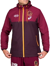 Brisbane Broncos Wet Weather Jacket Mens 2021