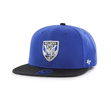 Canterbury Bulldogs Lil Shot 47 Captain Cap Kids