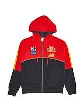 Gold Coast Suns Full Zip Summit Hoody 2021
