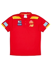 Gold Coast Suns Media Polo 2021