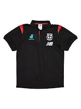St Kilda Saints Media Polo 2021