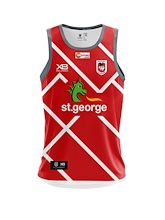 St George Dragons Training Singlet 2019