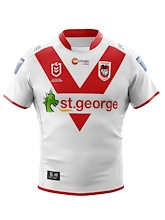 St George Dragons Kids Home Jersey 2020