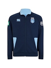 NSW Blues Origin Fleece Hybrid Zip Thru 2019