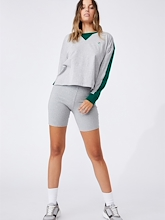 Cotton On NRL Rabbitohs Chopped Long Sleeve Womens