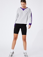 Cotton On NRL Storm Chopped Long Sleeve Womens