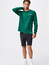 Cotton On NRL Rabbitohs Number Long Sleeve Mens
