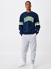 Cotton On NRL Raiders Collegiate Crew Mens