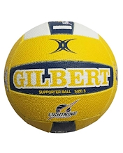 Gilbert Super Netball Lightning Supporter Ball