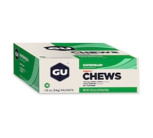 GU Energy Chews Watermelon 18 Pack