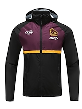 Brisbane Broncos Ladies Wet Weather Jacket 2020