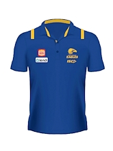 West Coast Eagles Ladies Media Polo 2020