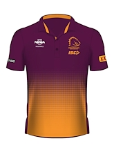 Brisbane Broncos Sublimated Polo 2019