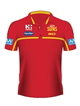Gold Coast Suns Media Polo 2020