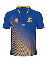 West Coast Eagles Sublimated Polo 2019