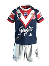 Sydney Roosters Toddlers Home Jersey Set 2020