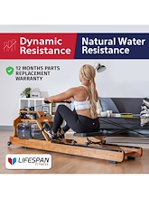 Lifespan Fitness ROWER750 Water Resistance