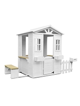 Lifespan Teddy Cubby House with White Fence - PREORDER