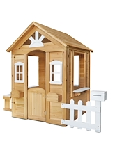 Lifespan Kids Teddy Cubby House Natural Timber - PRE-ORDER