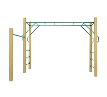 Lifespan Kids Amazon 2.5m Monkey Bars PREORDER