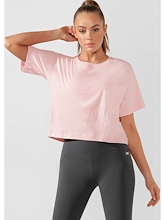 Lorna Jane Take It Easy Cropped Tee