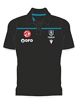 Port Adelaide Power FC Travel Poly Polo 2021