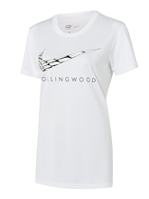 Collingwood Magpies Warm Up Tee 2021 Womens