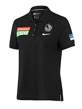 Collingwood Magpies Performance Polo 2021 Womens