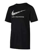 Collingwood Magpies Youth Warm Up Tee 2021